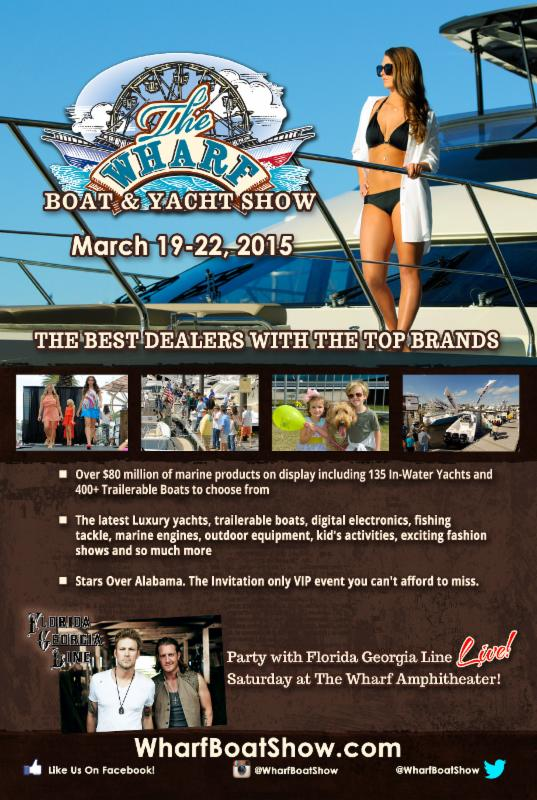 2015 Boat & Yacht Show at The Wharf